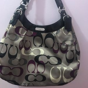 stylish excellent used condition COACH handbag!!